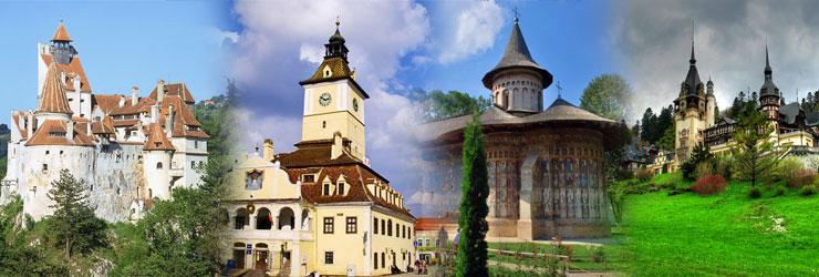 Transilvania y los monasterios de Moldavia
